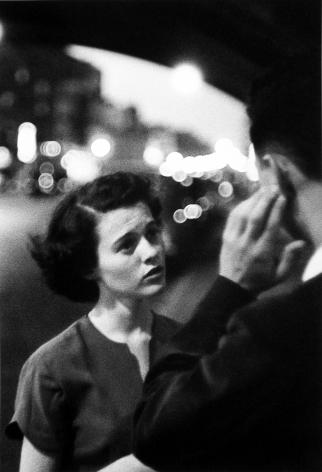 Louis Faurer - Deaf and Mute, c.1950 - Howard Greenberg Gallery