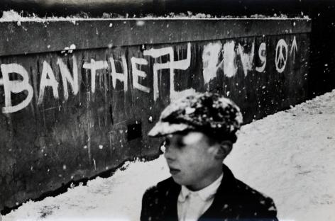 Don McCullin, Ban the Nazis, Finsbury Park, London, 1961-62, Howard Greenberg Gallery, 2019