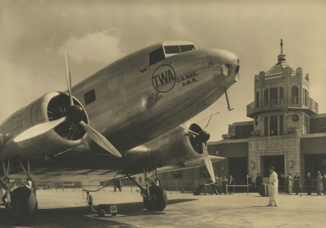 Margaret Bourke-White - TWA airplanes on the Tarmac, 1935 - Howard Greenberg Gallery