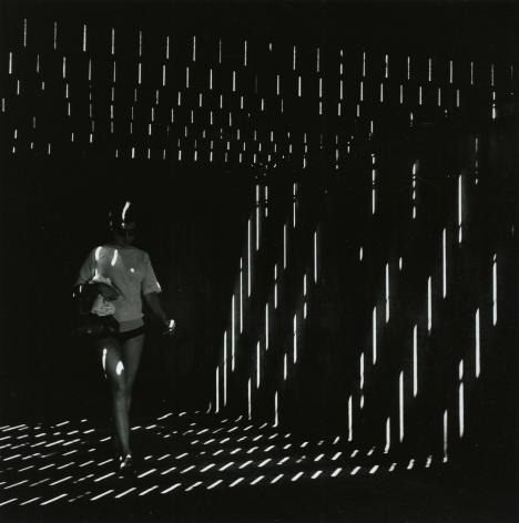 "Ray K. Metzker - 66 FR-3, Atlantic City, from ""Under the Boardwalk,"" 1966 - Howard Greenberg Gallery - 2018"