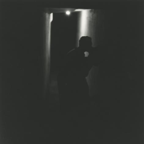 Saul Leiter - Kissing (variant) c.1954 - Howard Greenberg Gallery