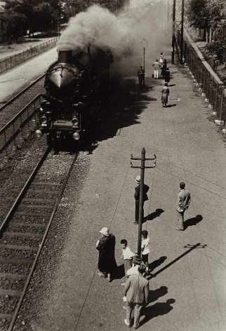 Imre Kinszki - Fast Train Coming, 1921-39 - Howard Greenberg Gallery