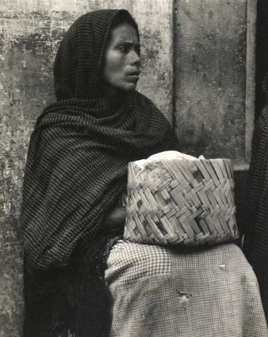 Paul Strand - Woman, Patzcuaro, Mexico, 1933 - Howard Greenberg Gallery