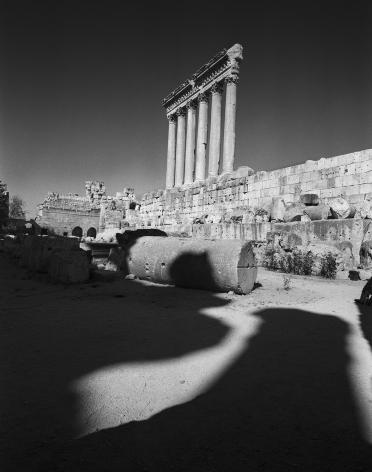 Don McCullin, The Temple of Jupiter, Baalbek, Lebanon, 2008, Howard Greenberg Gallery, 2019