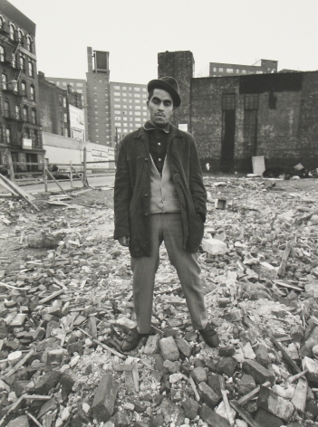 Bruce Davidson: East 100th Street, The 1970 MoMA Show 2009 Howard Greenberg Gallery