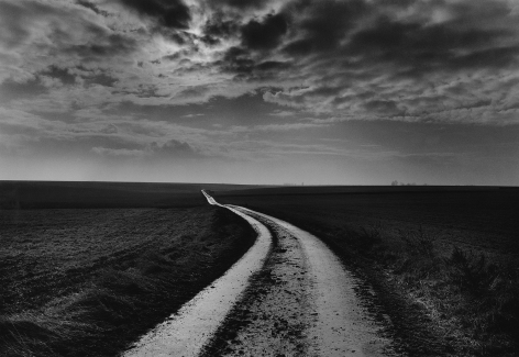 Don McCullin, Road to the Battlefields, Somme, France, 2000, Howard Greenberg Gallery, 2019