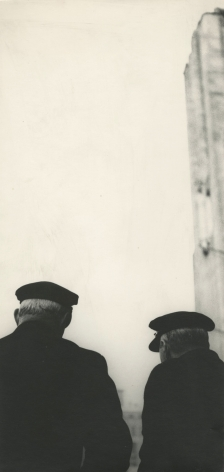 Saul Leiter, From Wedding as a Funeral, c.1951, Howard Greenberg Gallery, 2019