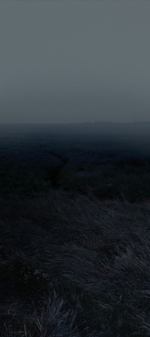 "Nadav Kander - Horizons I, (Coalhouse Fort towards St Mary Hoo), England, from the series, ""Dark Line - The Thames Estuary"" - 2015"