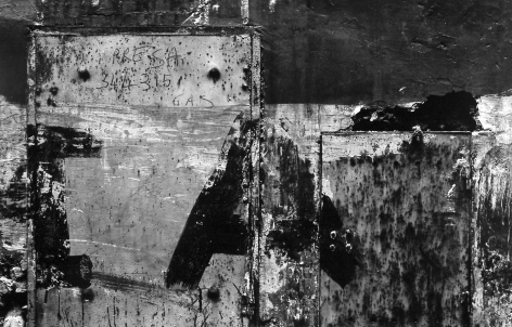 Aaron Siskind - Rome 71, 1963 - Howard Greenberg Gallery - 2018
