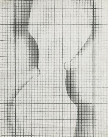 Erwin Blumenfeld, Composition sur papier quadrille, Pairs, 1938, Howard Greenberg Gallery, 2020