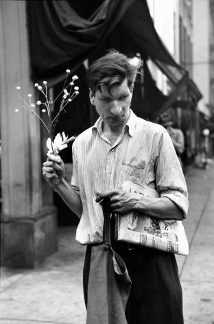 Louis Faurer - Eddie, c.1948- Howard Greenberg Gallery