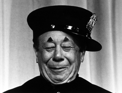 Ray Fisher - Bert Lahr, 1956 - Howard Greenberg Gallery
