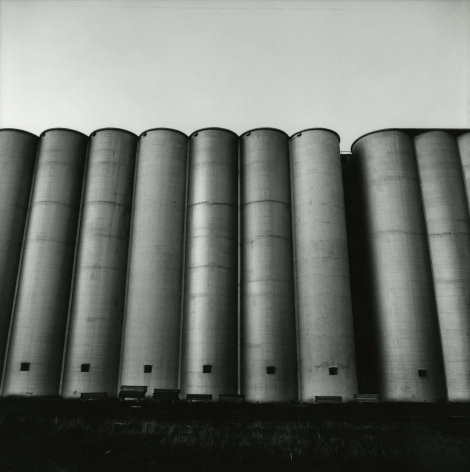 Frank Gohlke - Grain Elevators - Minneapolis - Series I #19, 1973 - Howard Greenberg Gallery
