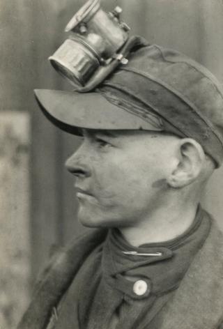 Lewis Hine - Breaker Boy in Pennsylvania Coal Mine, 1920 - Howard Greenberg Gallery