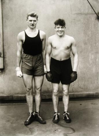 August Sander - Boxers, 1928 - Howard Greenberg Gallery