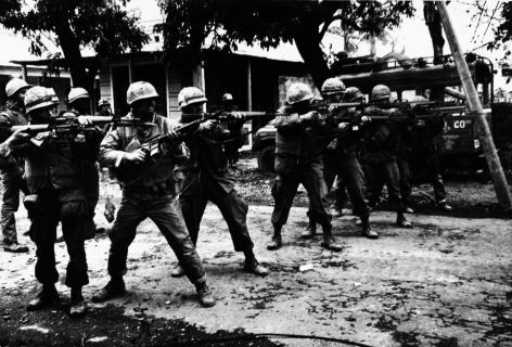 Don McCullin, Marines, Hue, Vietnam, 1968, Howard Greenberg Gallery, 2019