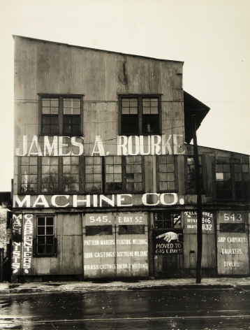 Peter Sekaer - James A. Rourke Machine Co., Savannah, Georgia 1936 - Howard Greenberg Gallery