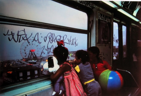Subway, New York, 1980 Archival pigment print; printed 2013 20 X 24 inches, howard greenberg gallery, 2020