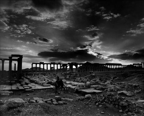 Don McCullin, The Colonnade, Palmyra, Syria, 2008, Howard Greenberg Gallery, 2019