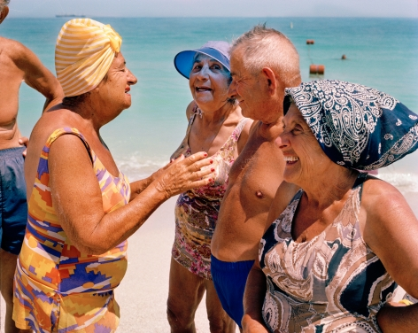 Gay Block - Love: South Beach in the 80s 2013 Howard Greenberg Gallery