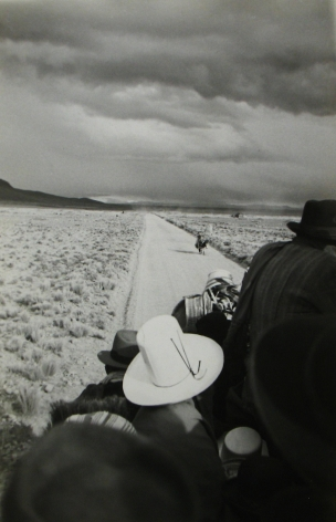 Robert Frank, Road to La Paz, Bolivia, 1949, Howard Greenberg gallery, 2019