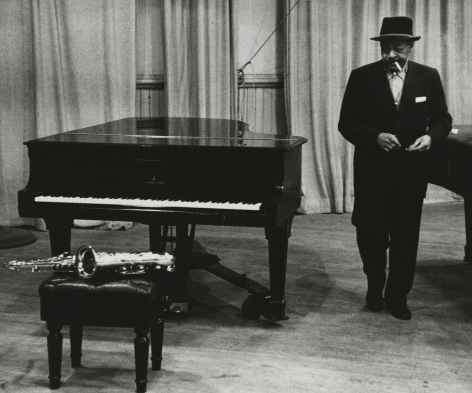 Dennis Stock - Jazz Street, Coleman Hawkins, 1958 - Howard Greenberg Gallery