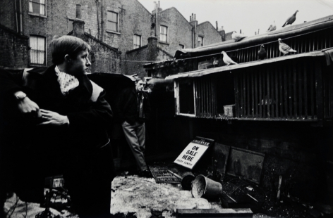 Don McCullin, My Brother Michael Smoking, Finsbury Park, London, 1960s, Howard Greenberg Gallery, 2019