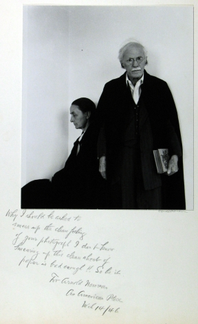 Arnold Newman: Sitters and Signatures 2007 Howard Greenberg Gallery