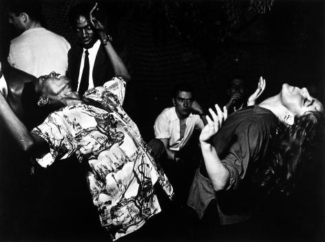 Ed Van der Elsken - Vali Myers Dancing, 1949 - Howard Greenberg Gallery