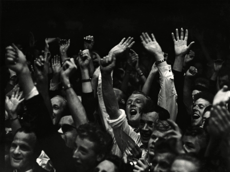Ed Van der Elsken - Audience at the concert of Benny Goodman in the village Blokker, 15 May, 1958 - Howard Greenberg Gallery