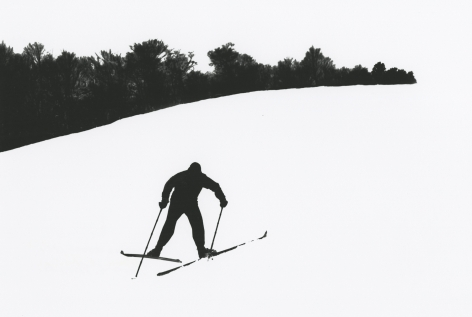 Marvin Newman - Skier, Stowe, Vermont, 1953 - Howard Greenberg Gallery