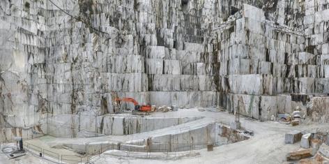Edward Burtynsky - Carrara Marble Quarries, Cava di Canalgrande #2, Carrara, Italy 2/6, 2016 - Howard Greenberg Gallery - 2018
