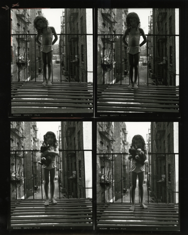 Bruce Davidson, East 100th Street Contact Sheet, Howard Greenberg Gallery, 2019