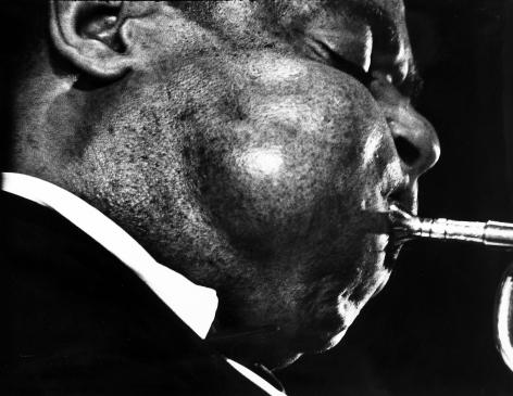Ed Van der Elsken - Dizzy Gillespie May, 1958 - Howard Greenberg Gallery