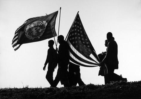 James Karales - Selma to Montgomery March, Alabama, 1965 - Howard Greenberg Gallery