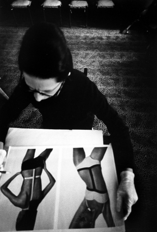 James Karales - Diana Vreeland, 1965 - Howard Greenberg Gallery