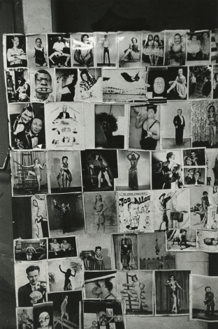 Robert Frank, Tattoo Parlor, 8th Avenue, New York City, 1958, Howard Greenberg gallery, 2019