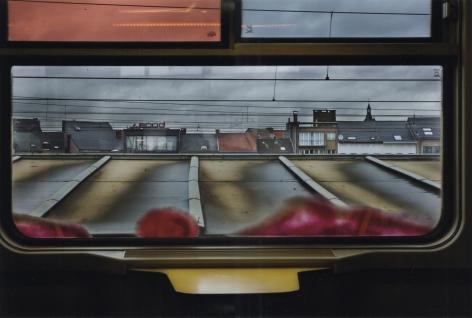 Harry Gruyaert - Train Station, Mechelen, Belgium, 2014 - Howard Greenberg Gallery - 2018