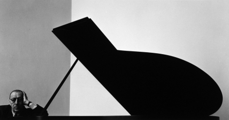 Arnold Newman - Igor Stravinsky, New York City, 1946 - Howard Greenberg Gallery