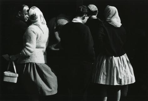 Ray K. Metzker - 61 BX-25, Europe, 1961 - Howard Greenberg Gallery - 2019