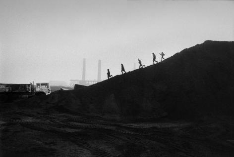 Don McCullin, Consett, County Durham (kids on a coal slag heap), 1970s, Howard Greenberg Gallery, 2019