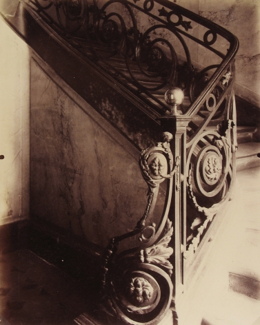 Eugene Atget - Hotel Sully-Charost, 11 rue de Cherche-Midi, Paris - Howard Greenberg Gallery
