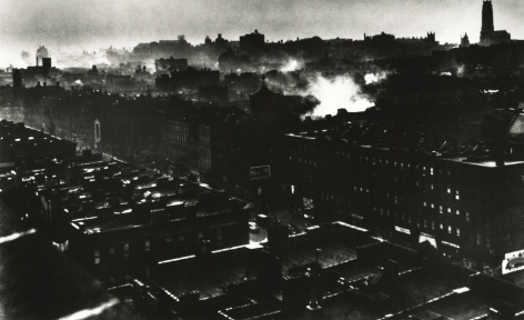 Gordon Parks - Harlem Rooftops, 1948 - Howard Greenberg Gallery