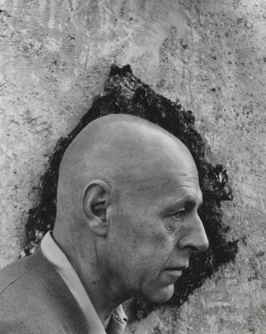 Arnold Newman - Jean Dubuffet, 1956 - Howard Greenberg Gallery - 2018