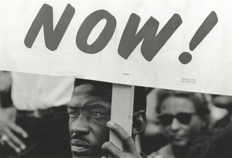 ADELMAN, Bob Demonstrator during the March on Washington, DC, 1963