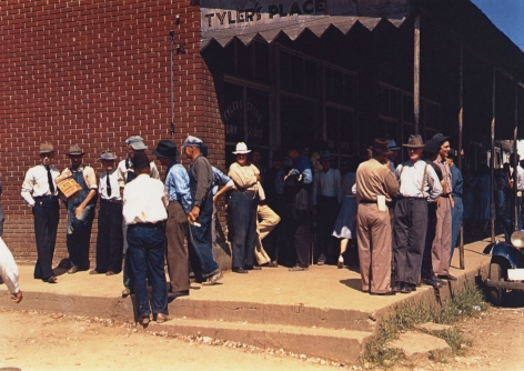 Marion Post-Wolcott - Farmers and Townspeople in town on Court Day, Compton, KY, September 1940 - Howard Greenberg Gallery