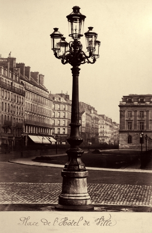 Charles Marville: Streetlamps of Paris 2005 Howard Greenberg Gallery