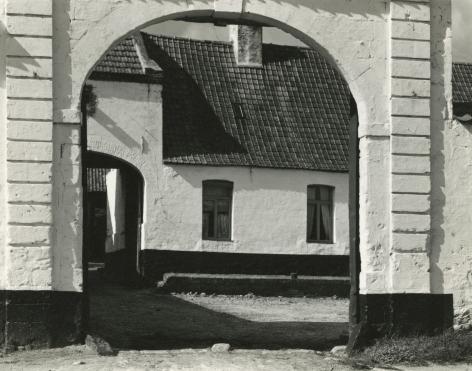 Paul Strand - Farm, Picardy, Flanders, France, 1950 - Howard Greenberg Gallery
