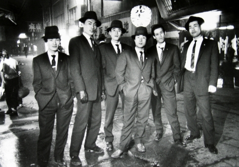 Ed Van der Elsken - Gangsters, Osaka, Japan, 1960 - Howard Greenberg Gallery