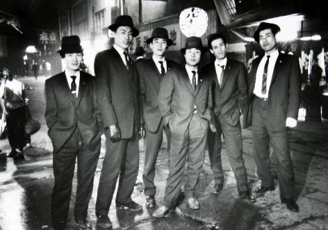 Ed Van der Elsken - Gangsters, Osaka, Japan, 1960 - Howard Greenberg Gallery